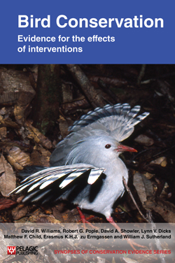 bird conservation book