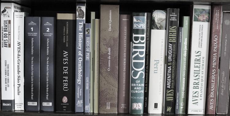Livros sobre observação de aves e ornitologia