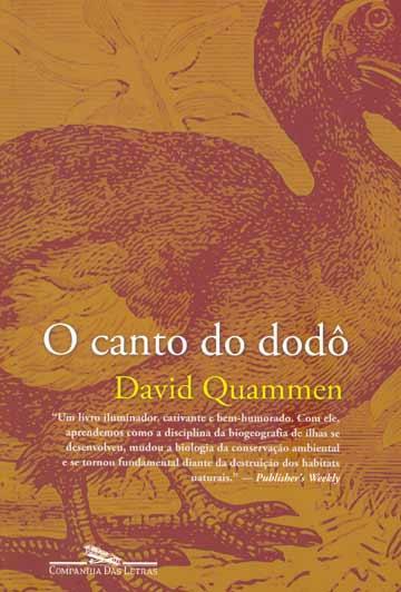 Livro O canto do dodô