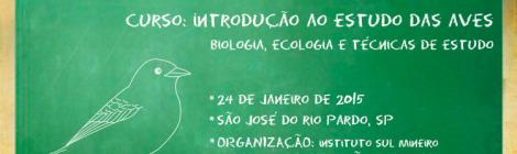 curso introdução ao estudo das aves