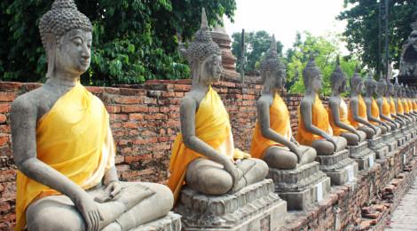 templo budista em Ayutthaia
