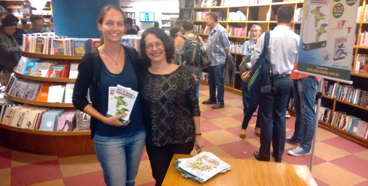 lançamento do Guia Aves do Brasil - Mata Atlântica do Sudeste.