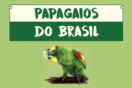 papagaios do brasil - cartilha