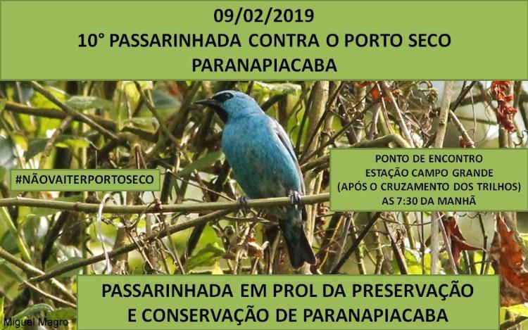 10ª Passarinhada contra o Porto Seco - Paranapiacaba