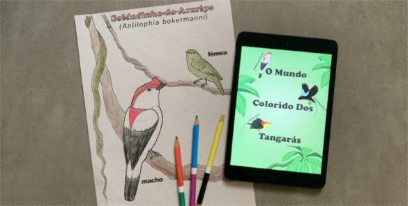 capa livro tangaras