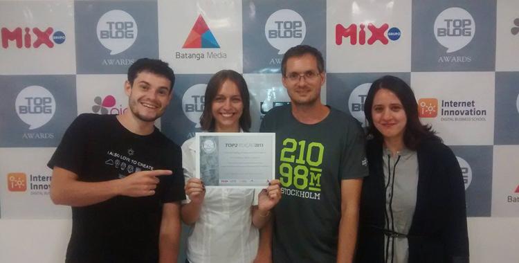 Premiação TopBlog 2013