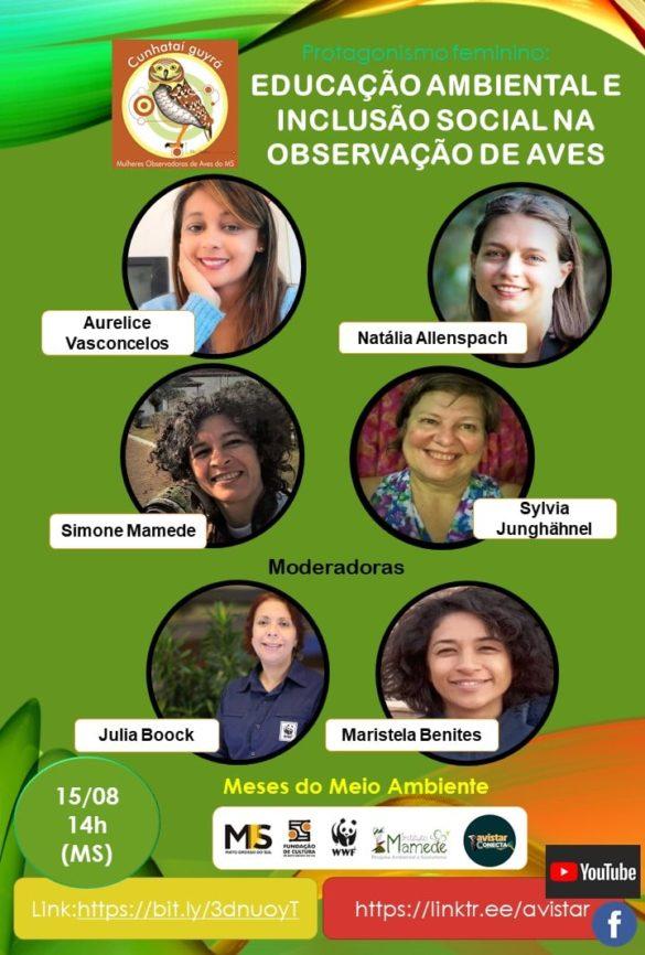 live educação ambiental e inclusão social
